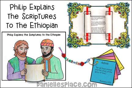 Philip Explains the Scriptures to the Ethiopian Bible Lesson