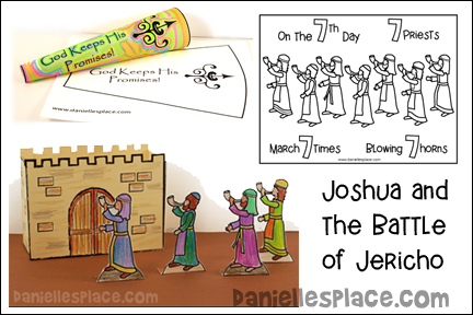 Joshua and the Battle of Jericho Bible Lesson