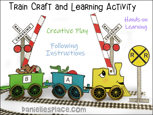 Train Craft and Learning Activities