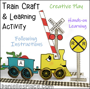 Train Craft and Hands-on Learning Activity