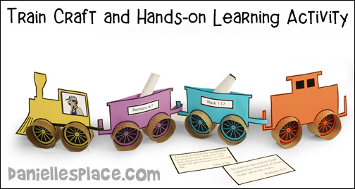 Train Craft and Hands-on Learning Activities