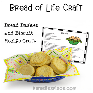 Give Us our Daily Bread Craft for Sunday School for the Lord's Prayer Bible Lesson