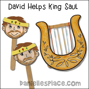 David Helps King Saul Bible Lesson