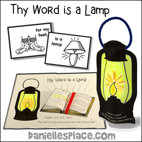 Thy Word is a Lamp Bible Lesson for Children