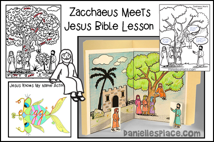 Zacchaeus Meets Jesus Bible Lesson for Children
