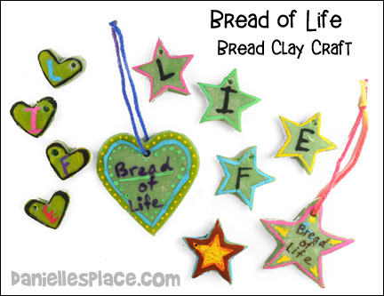 Brad Clay Activity for Bread of Life Bible Lessons