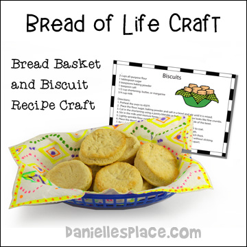 Bread of Life Basket Craft for Children's Ministry