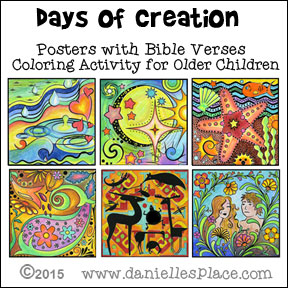 Days of Creation Posters
