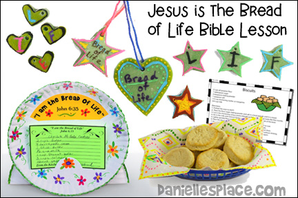 Jesus the Bread of Life Bible Lesson