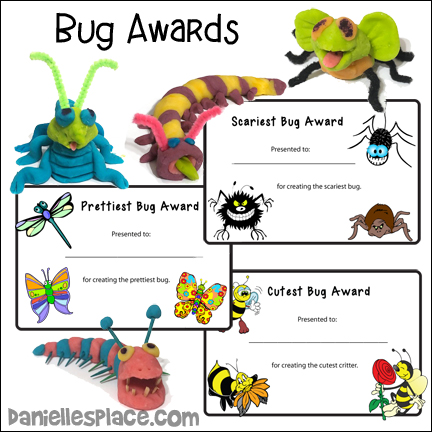 Bug Awards - Create a Bug with Bug Awards Activity