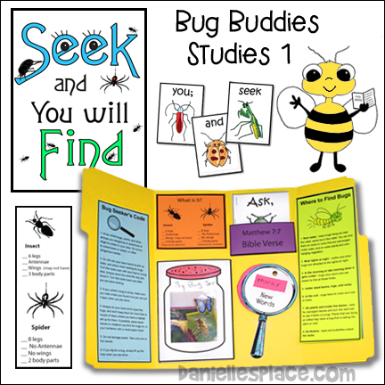 Seek and Find Bug Buddies Study 1