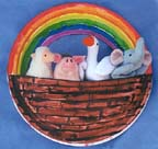 Noah's Ark with Rainbow for children