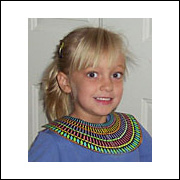 Paper Egyptian Beaded Collar from www.daniellesplace.com