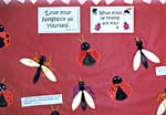 love our neighbor as yourself banner bulletin board craft