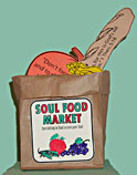 sunday school Soul food Grocery Bag Sunday school bible Craft